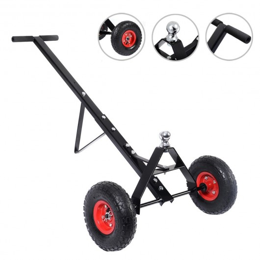 600lb HEAVY DUTY Utility Trailer Mover Hitch Boat Jet Ski Camper Hand Dolly New